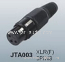 3 Pin audio female XLR Connector for 2015