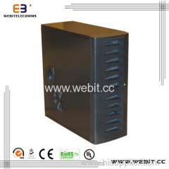 Tower series server case with side panel vented