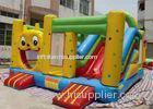 5 5 m Cute Cartoon Inflatable Bounce House Slide Combo For Children