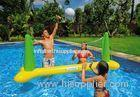 Inflatable Sports Games Mini Inflatable Volleyball Field For Aqua Park