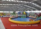 Giant Outdoor Play Equipment Amazing Inflatable Water Park For Kids
