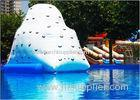 Outdoor Inflatable Water Toys Inflatable Pool Iceberg Floating Climbing Wall