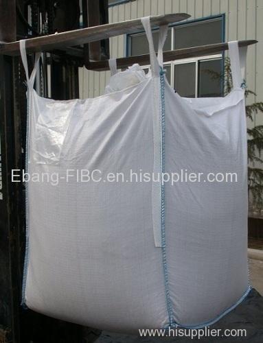 4 loop open top flexible intermediate bulk container