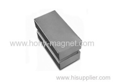 Ni coated neodymium magnet block in n42