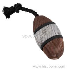 ロープでペットの敏捷性のトレーニング丈夫な犬オックスフォード玩具