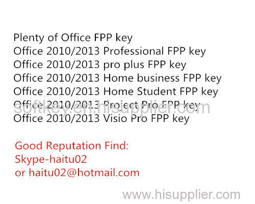 microsoft office product key for office 2010 pro plus fpp key online