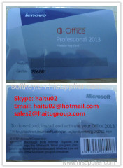 Original Never Block Office 2013 professional plus product key card lenovo