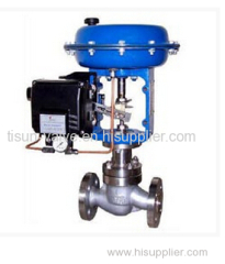 angular travel control valve (regulator)