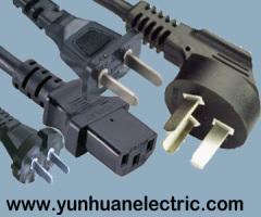 AC Plug Cord Set China 10A 250V