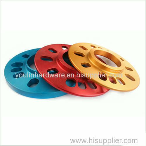 Anodizing aluminum wheel parts