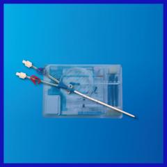 Plastic Disposable Hemodialysis Catheter