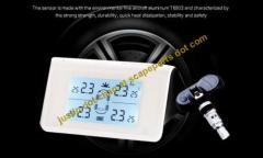 Solar wireless Tire-Safe Guard Tire Pressure Monitor System TPMS911