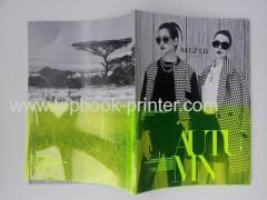 Black gold stamping cover design hardback photobook with green dust jacket