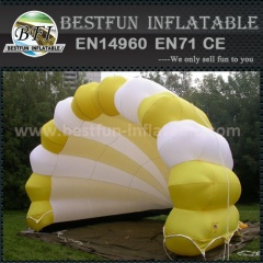 Cheap inflatable lighting shell tent