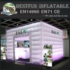 Colorful inflatable tent with led light for wedding or party
