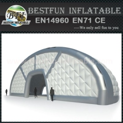 Huge inflatable dome buildings