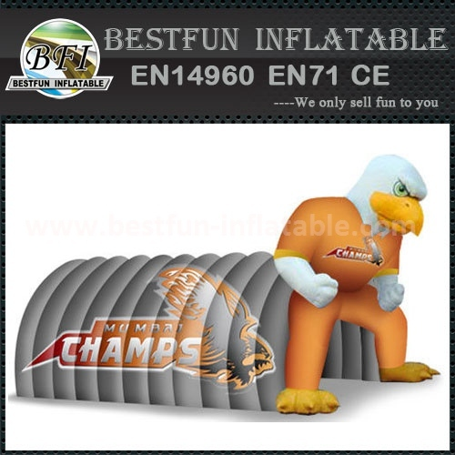 Eagle inflatable football tunnel tent