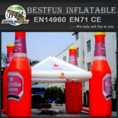 China Bottle Inflatable Tent