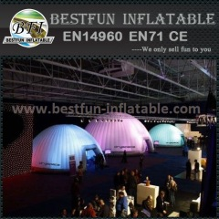 New inflatable led light tent