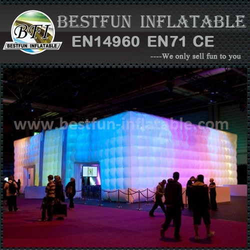 Fashion inflatable tent with led light