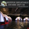 Indoor inflatable lighting Dome tent