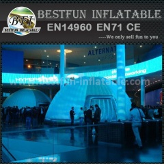 Inflatable party tent canopy
