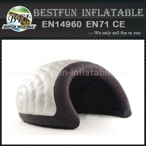 Grey and black Luna Inflatable tents