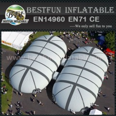 PVC exhibition design inflatable tent