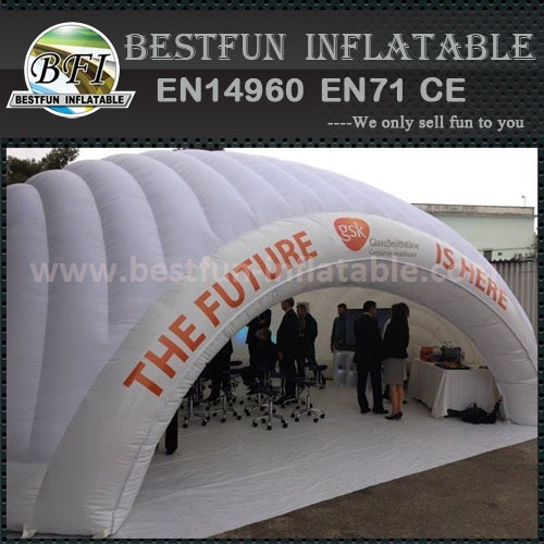 White Giant inflatable buildings