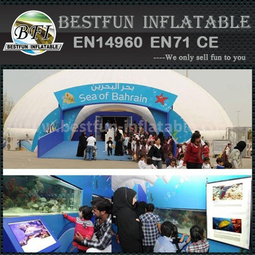 New style customized exhibition inflatable tents