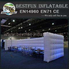 Long Light inflatable walls