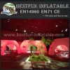 LED show display inflatable booth