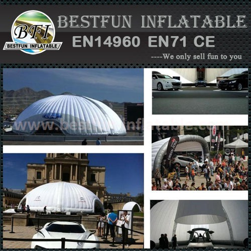 Outdoor round air tent for sale