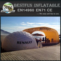 White igloo house inflatable tent for outdoor