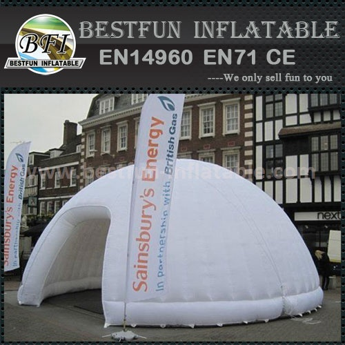 Portable promotion air dome tent