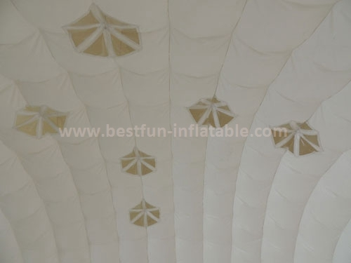 China large custom inflatable led cube tent price for party