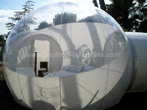 Clear inflatable tent inflatable bubble camping tent