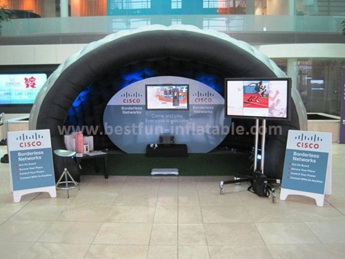 Durable inflatable camping tents