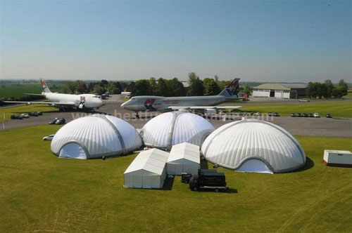 Multifunction inflatable portable temporary Dome