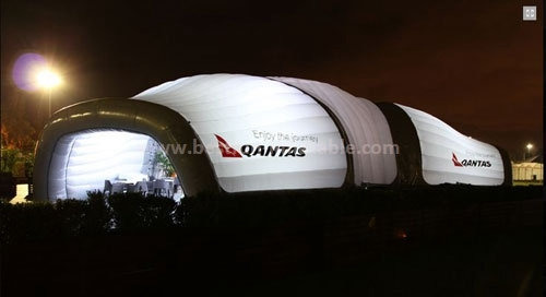 Economic long inflatable tent for event