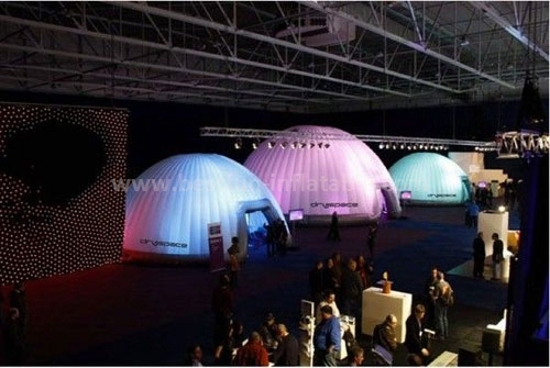 Hot sale inflatable tent with led light