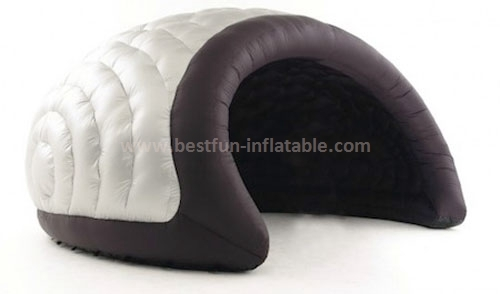 Inflatable moon tent for exhibitions