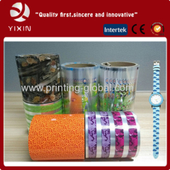 2015 hot sales PVC heat transfer film for watch brand