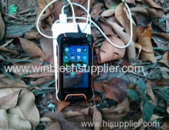 4inch QUAD CORE waterproof oem smart phone order welcome v-3 factory supplier ru-gged phone
