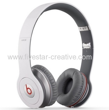 Beats by Dr.Dre Solo HD On Ear Compact Folding Headphones with MIC White