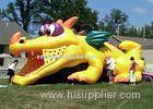 Durable Outdoor Commercial Inflatable Slide, Cheap Inflatable Crocodile Slide For Playing