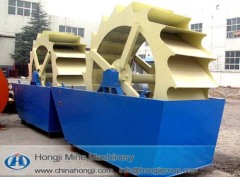High efficient durable sand washing machine for sale