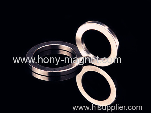 Big Ring Shape diametrically magnetized NdFeB Magnet