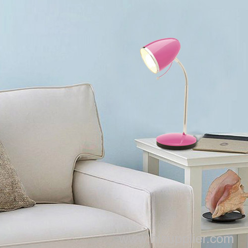 Pink LED modern and creative living room table lamps