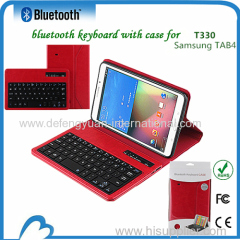 Slide wireless ABS bluetooth keyboard for Samsung Tab 4 T330